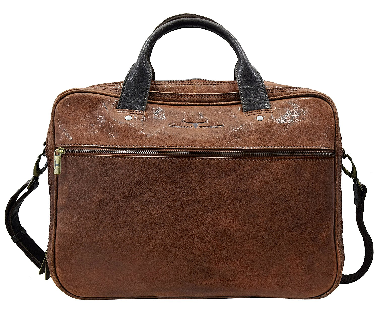 Laptop Bag by Dolphin Leathers